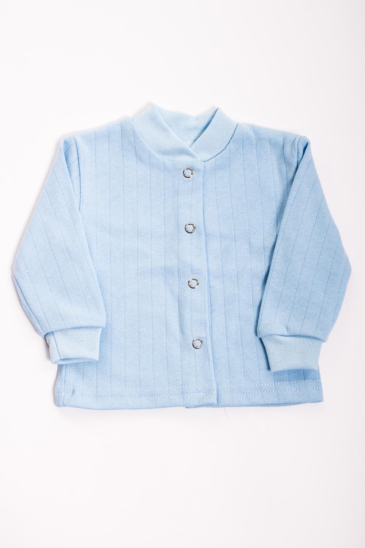 КофточкаКофточки<br>Хлопковая кофточка для ребенка  Цвет: голубой  Размер соответствует росту ребенка<br><br>Размер : 74<br>Материал: Футер<br>Количество в наличии: 1