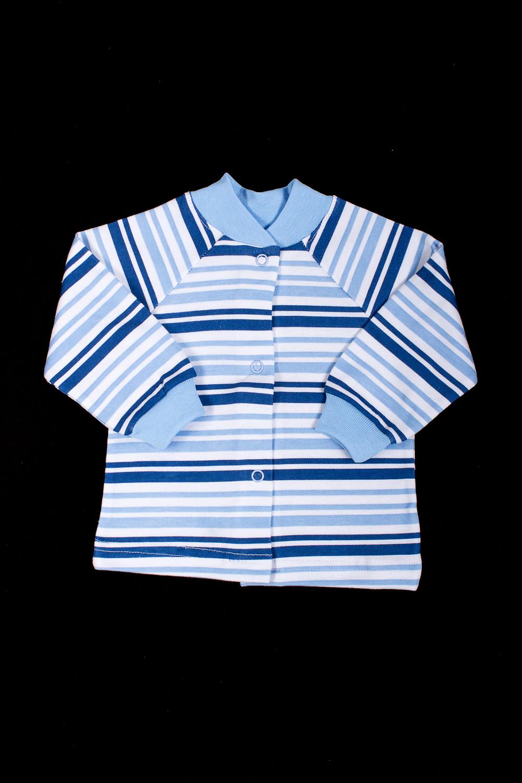 КофточкаКофточки<br>Хлопковая кофточка для новорожденного  В изделии использованы цвета: синий, голубой, белый  Размер соответствует росту ребенка<br><br>Воротник: Стойка<br>По возрасту: Ясельные ( от 1 до 3 лет)<br>По материалу: Хлопковые<br>По образу: Повседневные<br>По рисунку: В полоску,Цветные<br>По сезону: Весна,Зима,Лето,Осень,Всесезон<br>По силуэту: Полуприталенные<br>По элементам: С кнопками<br>Рукав: Длинный рукав,С манжетами<br>Размер : 62,74<br>Материал: Хлопок<br>Количество в наличии: 2