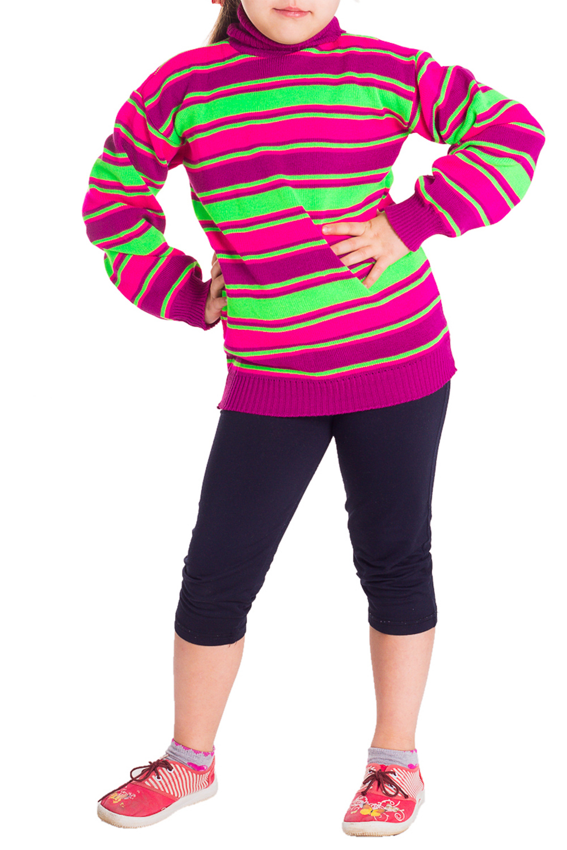 ВодолазкаВодолазки<br>Яркая водолазка для девочки. Приталенная модель. Производятся из высококачественной пряжи, отличающейся износостойкостью и способностью сохранять свой яркий цвет.  Цвет: розовый, фиолетовый, салатовый  Размер 74 соответствует росту 70-73 см Размер 80 соответствует росту 74-80 см Размер 86 соответствует росту 81-86 см Размер 92 соответствует росту 87-92 см Размер 98 соответствует росту 93-98 см Размер 104 соответствует росту 98-104 см Размер 110 соответствует росту 105-110 см Размер 116 соответствует росту 111-116 см Размер 122 соответствует росту 117-122 см Размер 128 соответствует росту 123-128 см Размер 134 соответствует росту 129-134 см Размер 140 соответствует росту 135-140 см Размер 146 соответствует росту 141-146 см Размер 152 соответствует росту 147-152 см Размер 158 соответствует росту 153-158 см Размер 164 соответствует росту 159-164 см<br><br>Воротник: Стойка<br>По возрасту: Школьные ( от 7 до 13 лет)<br>По материалу: Трикотажные<br>По образу: Повседневные<br>По рисунку: В полоску,Цветные<br>По сезону: Зима<br>По силуэту: Полуприталенные<br>Рукав: Длинный рукав<br>Размер : 134<br>Материал: Вязаное полотно<br>Количество в наличии: 1