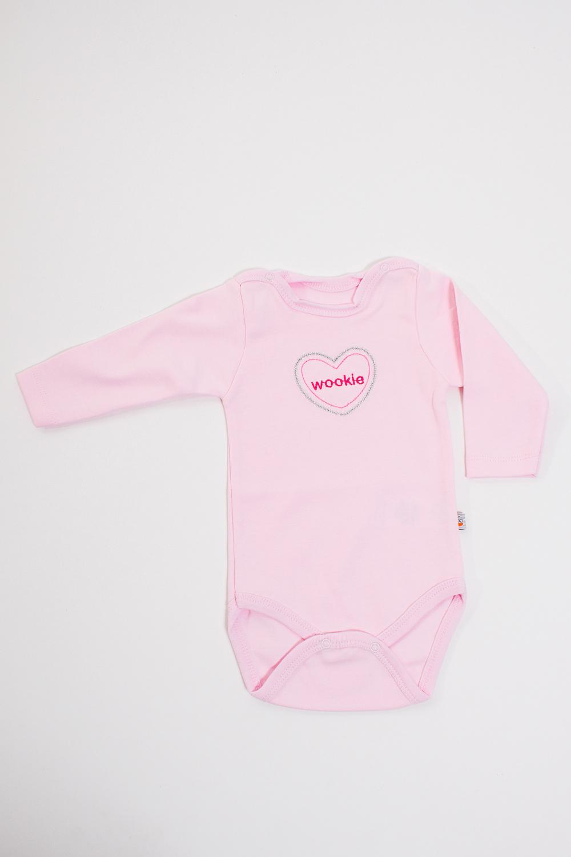 БодиКофточки<br>Хлопковое боди для новорожденного  Цвет: розовый  Размер соответствует росту ребенка.<br><br>Размер : 56,62<br>Материал: Хлопок<br>Количество в наличии: 2