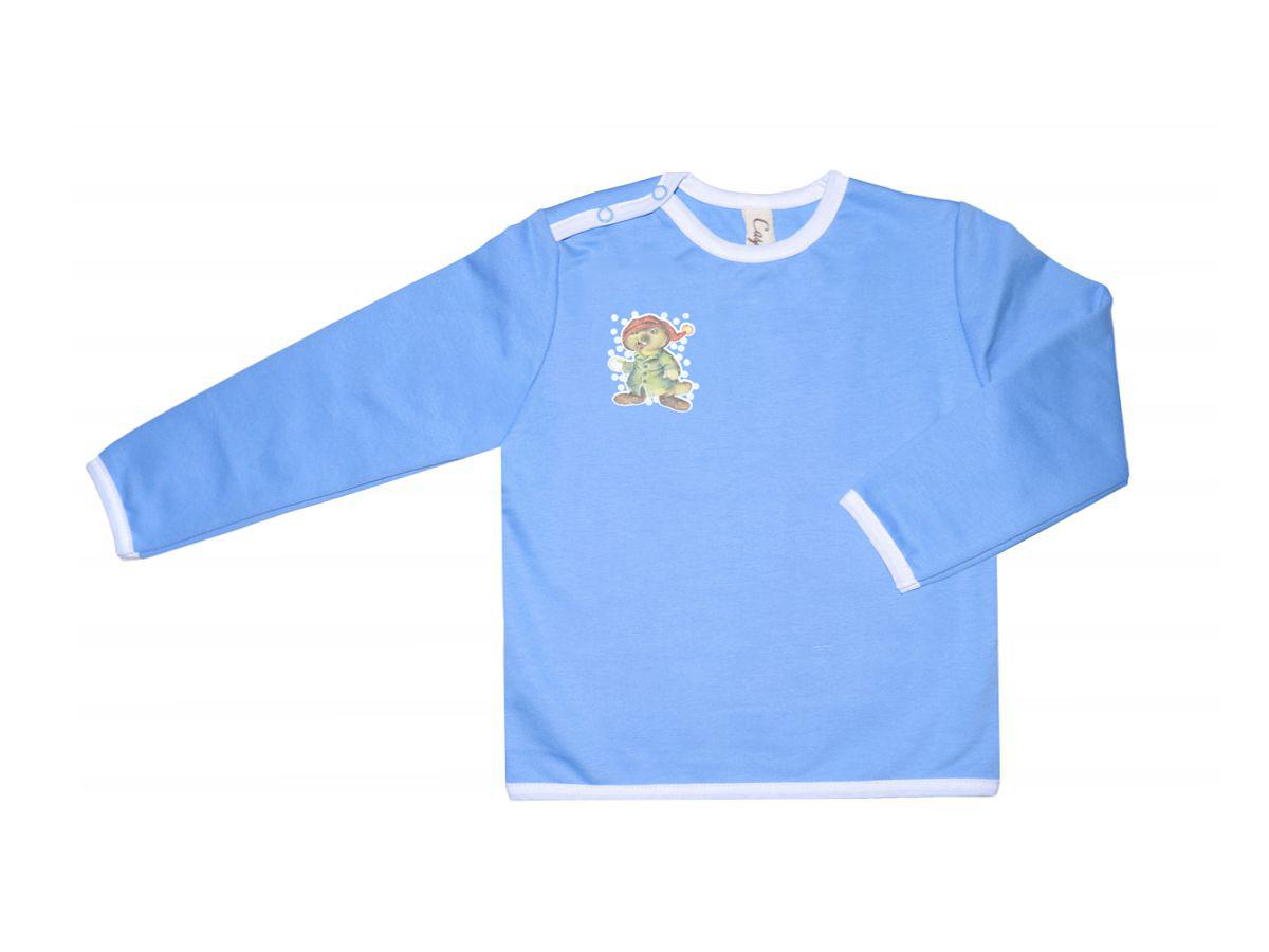 ДжемперДжемперы<br>Хлопковый джемпер для мальчика  Цвет: голубой  Размер соответствует росту ребенка<br><br>Горловина: С- горловина<br>По длине: Удлиненные<br>По материалу: Трикотажные,Хлопковые<br>По образу: Повседневные<br>По рисунку: Однотонные<br>По силуэту: Полуприталенные<br>Рукав: Длинный рукав<br>По сезону: Осень,Весна<br>По возрасту: Ясельные ( от 1 до 3 лет)<br>Размер : 104,92<br>Материал: Трикотаж<br>Количество в наличии: 4