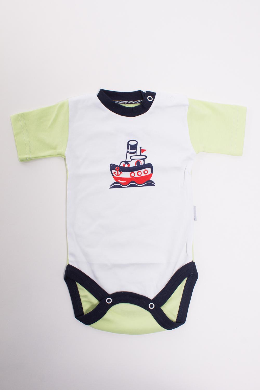 БодиКофточки<br>Хлопковое боди для новорожденного  Цвет: белый, салатовый  Размер соответствует росту ребенка<br><br>Размер : 62,68,74<br>Материал: Хлопок<br>Количество в наличии: 5