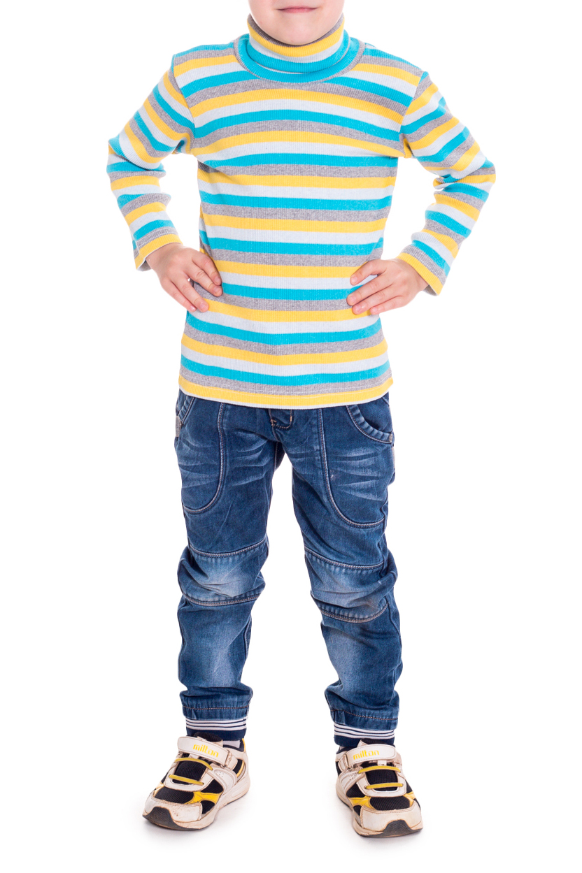 ВодолазкаВодолазки<br>Классическая детская водолазка с длинными рукавами.  В изделии использованы цвета: голубой, желтый, серый, белый  Размер 74 соответствует росту 70-73 см Размер 80 соответствует росту 74-80 см Размер 86 соответствует росту 81-86 см Размер 92 соответствует росту 87-92 см Размер 98 соответствует росту 93-98 см Размер 104 соответствует росту 98-104 см Размер 110 соответствует росту 105-110 см Размер 116 соответствует росту 111-116 см Размер 122 соответствует росту 117-122 см Размер 128 соответствует росту 123-128 см Размер 134 соответствует росту 129-134 см Размер 140 соответствует росту 135-140 см Размер 146 соответствует росту 141-146 см Размер 152 соответствует росту 147-152 см Размер 158 соответствует росту 153-158 см Размер 164 соответствует росту 159-164 см<br><br>Воротник: Стойка<br>По возрасту: Ясельные ( от 1 до 3 лет),Дошкольные ( от 3 до 7 лет),Школьные ( от 7 до 13 лет)<br>По материалу: Трикотажные,Хлопковые<br>По образу: Повседневные<br>По рисунку: В полоску<br>По сезону: Зима,Осень,Весна<br>По силуэту: Полуприталенные<br>По стилю: Повседневные<br>Рукав: Длинный рукав<br>Размер : 116<br>Материал: Трикотаж<br>Количество в наличии: 1