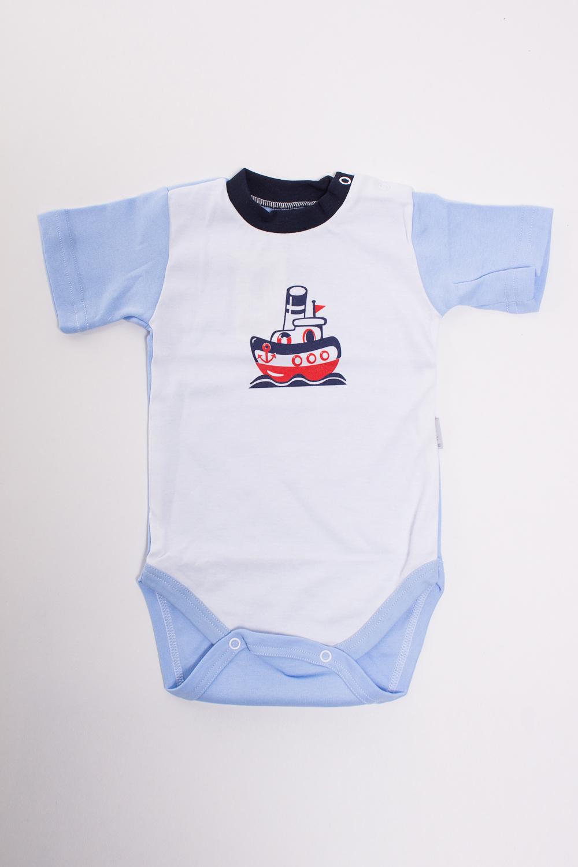 БодиКофточки<br>Хлопковое боди для новорожденного  Цвет: белый, голубой  Размер соответствует росту ребенка<br><br>Размер : 62,74<br>Материал: Хлопок<br>Количество в наличии: 4