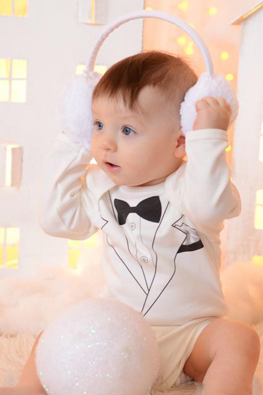Боди боди детское happy baby цвет белый мятный 2 шт 90005 размер 74 80