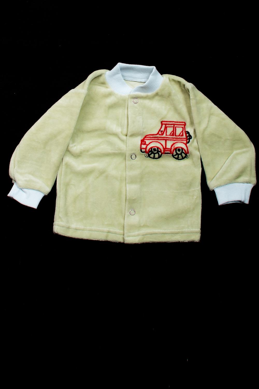 РубашкаКофточки<br>Хлопковая кофточка на кнопках  В изделии использованы цвета: светло-зеленый и др.  Размер соответствует росту ребенка<br><br>По сезону: Всесезон<br>Размер : 74,80<br>Материал: Велюр<br>Количество в наличии: 2