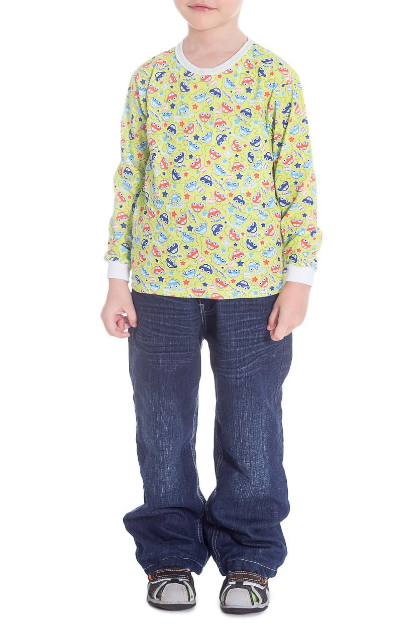 ДжемперДжемперы<br>Хлопковый джемпер для мальчика.  Принт на джемпере может отличаться от изображенного на фото.  Цвет: желтый, мультицвет  Размер 74 соответствует росту 70-73 см Размер 80 соответствует росту 74-80 см Размер 86 соответствует росту 81-86 см Размер 92 соответствует росту 87-92 см Размер 98 соответствует росту 93-98 см Размер 104 соответствует росту 98-104 см Размер 110 соответствует росту 105-110 см Размер 116 соответствует росту 111-116 см Размер 122 соответствует росту 117-122 см Размер 128 соответствует росту 123-128 см Размер 134 соответствует росту 129-134 см Размер 140 соответствует росту 135-140 см Размер 146 соответствует росту 141-146 см Размер 152 соответствует росту 147-152 см Размер 158 соответствует росту 153-158 см Размер 164 соответствует росту 159-164 см<br><br>Горловина: С- горловина<br>По возрасту: Дошкольные ( от 3 до 7 лет)<br>По материалу: Трикотажные,Хлопковые<br>По рисунку: С принтом (печатью),Цветные<br>По сезону: Зима,Осень,Весна<br>По силуэту: Полуприталенные<br>Рукав: Длинный рукав<br>Размер : 116<br>Материал: Трикотаж<br>Количество в наличии: 1