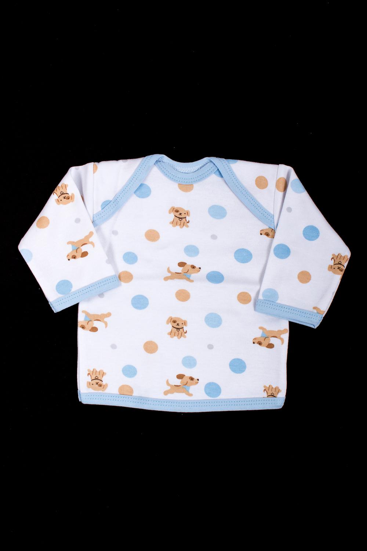ФуфайкаКофточки<br>Хлопковая кофточка для новорожденного.  В изделии использованы цвета: белый, голубой, коричневый.  Размер соответствует росту ребенка<br><br>Горловина: С- горловина<br>По возрасту: Ясельные ( от 1 до 3 лет)<br>По материалу: Хлопковые<br>По образу: Повседневные<br>По рисунку: В горошек,Животные мотивы,С принтом (печатью),Цветные<br>По сезону: Весна,Зима,Лето,Осень,Всесезон<br>По силуэту: Полуприталенные<br>По элементам: Без воротника<br>Рукав: Длинный рукав<br>Размер : 56,62<br>Материал: Хлопок<br>Количество в наличии: 2