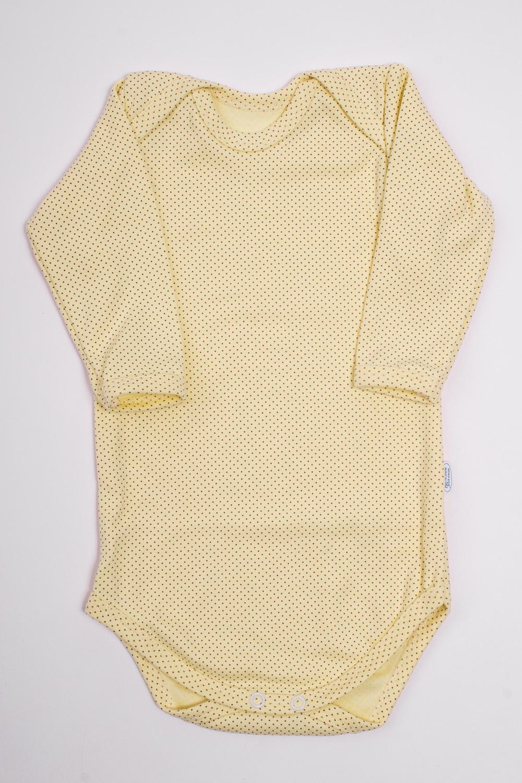 БодиКофточки<br>Хлопковое боди для новорожденного  Цвет: желтый  Размер соответствует росту ребенка.<br><br>По сезону: Всесезон<br>Размер: 68,74,80<br>Материал: 100% хлопок<br>Количество в наличии: 1