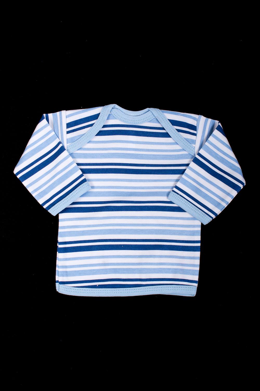 ФуфайкаКофточки<br>Хлопковая кофточка для новорожденного.  В изделии использованы цвета: белый, голубой, синий.  Размер соответствует росту ребенка<br><br>Горловина: С- горловина<br>По возрасту: Ясельные ( от 1 до 3 лет)<br>По материалу: Хлопковые<br>По образу: Повседневные<br>По рисунку: В полоску,Цветные<br>По сезону: Весна,Зима,Лето,Осень,Всесезон<br>По силуэту: Полуприталенные<br>По элементам: Без воротника<br>Рукав: Длинный рукав<br>Размер : 56<br>Материал: Хлопок<br>Количество в наличии: 1