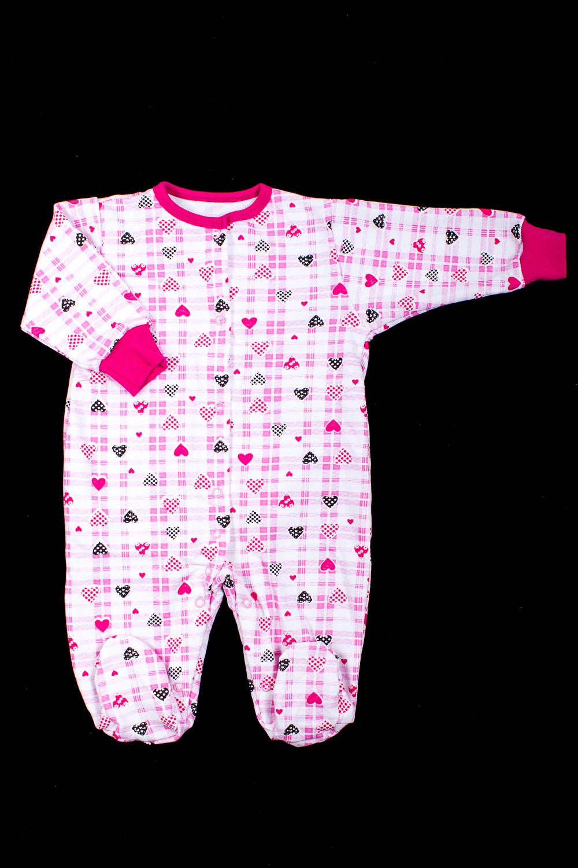 КомбинезонКомбинезончики<br>Хлопковый комбинезон для ребенка.  В изделии использованы цвета: белый, розовый и др.  Размер соответствует росту ребенка.<br><br>По сезону: Осень,Весна<br>Размер : 62,68<br>Материал: Хлопок<br>Количество в наличии: 2