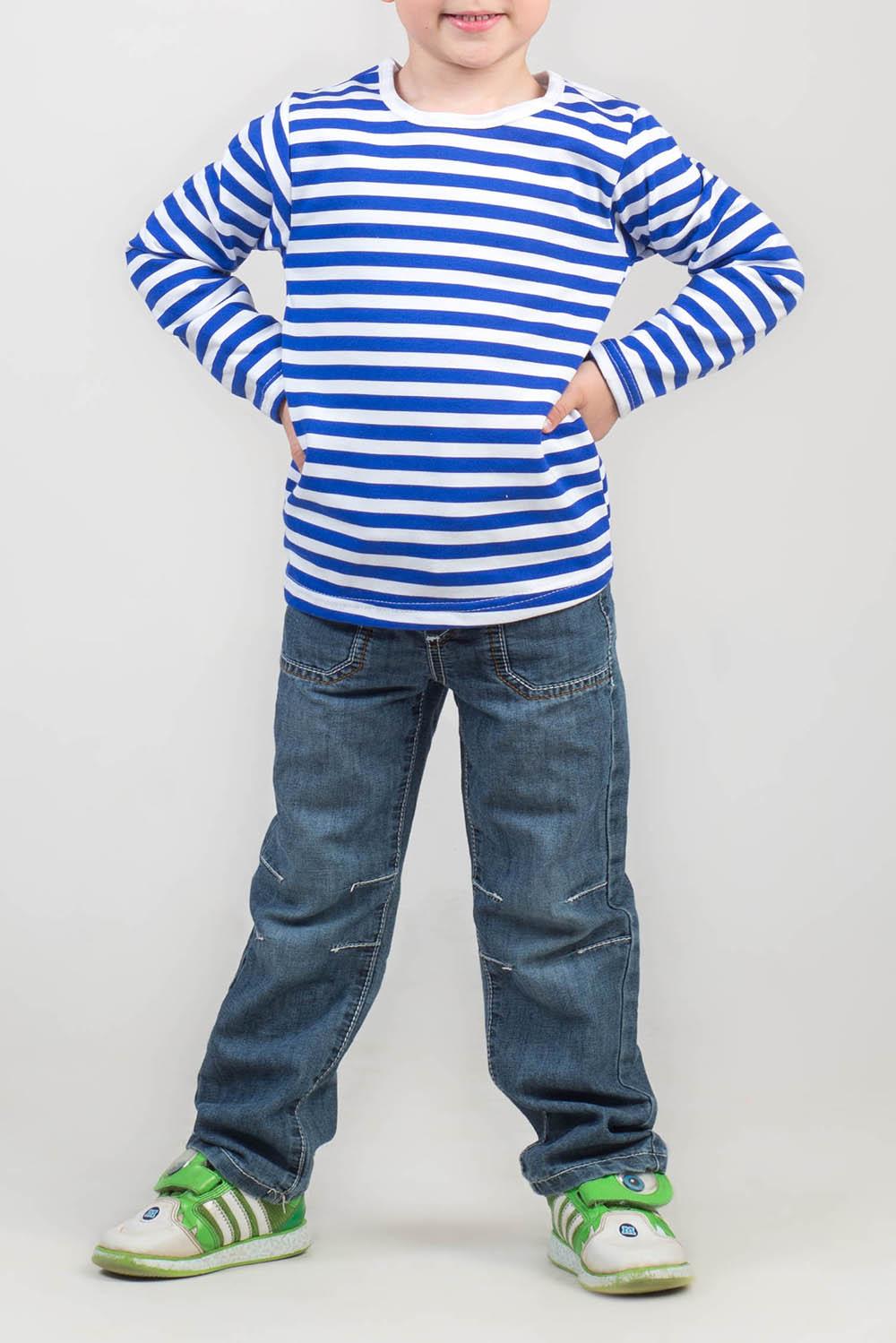 ТельняшкаДжемперы<br>Хлопковая тельняшка для мальчика  Цвет: синий, белый.  Размер 62 соответствует росту 56-61 см Размер 68 соответствует росту 62-67 см Размер 74 соответствует росту 68-73 см Размер 80 соответствует росту 74-80 см Размер 86 соответствует росту 81-86 см Размер 92 соответствует росту 87-92 см Размер 98 соответствует росту 93-98 см Размер 104 соответствует росту 98-104 см Размер 110 соответствует росту 105-110 см Размер 116 соответствует росту 111-116 см Размер 122 соответствует росту 117-122 см Размер 128 соответствует росту 123-128 см Размер 134 соответствует росту 129-134 см Размер 140 соответствует росту 135-140 см Размер 146 соответствует росту 141-146 см<br><br>По возрасту: Дошкольные ( от 3 до 7 лет),Школьные ( от 7 до 13 лет),Ясельные ( от 1 до 3 лет)<br>По материалу: Трикотажные,Хлопковые<br>По образу: Повседневные<br>По рисунку: С принтом (печатью),Цветные<br>По сезону: Весна,Зима,Осень,Всесезон<br>Размер : 122,86,98<br>Материал: Трикотаж<br>Количество в наличии: 14