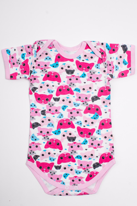 БодиКофточки<br>Хлопковое боди для новорожденного  Цвет: розовый, белый и др.  Размер соответствует росту ребенка.<br><br>По сезону: Всесезон<br>Размер: 68<br>Материал: 100% хлопок<br>Количество в наличии: 1