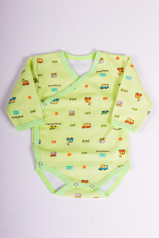 БодиКофточки<br>Хлопковое боди для новорожденного  Размер 62 соответствует росту 57-62 см<br><br>Размер : 62<br>Материал: Хлопок<br>Количество в наличии: 1
