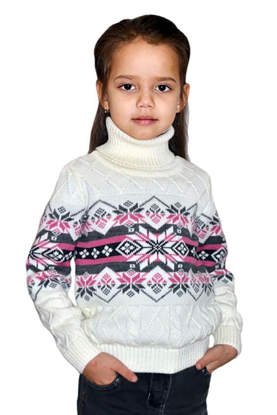 СвитерСвитеры<br>Вязаный свитер для девочки.  В изделии использованы цвета: белый, серый, черный, розовый.  Размер 74 соответствует росту 70-73 см Размер 80 соответствует росту 74-80 см Размер 86 соответствует росту 81-86 см Размер 92 соответствует росту 87-92 см Размер 98 соответствует росту 93-98 см Размер 104 соответствует росту 98-104 см Размер 110 соответствует росту 105-110 см Размер 116 соответствует росту 111-116 см Размер 122 соответствует росту 117-122 см Размер 128 соответствует росту 123-128 см Размер 134 соответствует росту 129-134 см Размер 140 соответствует росту 135-140 см<br><br>Воротник: Стойка<br>По возрасту: Дошкольные ( от 3 до 7 лет),Школьные ( от 7 до 13 лет)<br>По материалу: Вязаные<br>По рисунку: С принтом (печатью),Цветные<br>По сезону: Весна,Осень,Зима<br>По силуэту: Полуприталенные<br>По стилю: Теплые<br>По элементам: Без капюшона<br>Рукав: Длинный рукав<br>Размер : 116,122,128,134<br>Материал: Вязаное полотно<br>Количество в наличии: 4