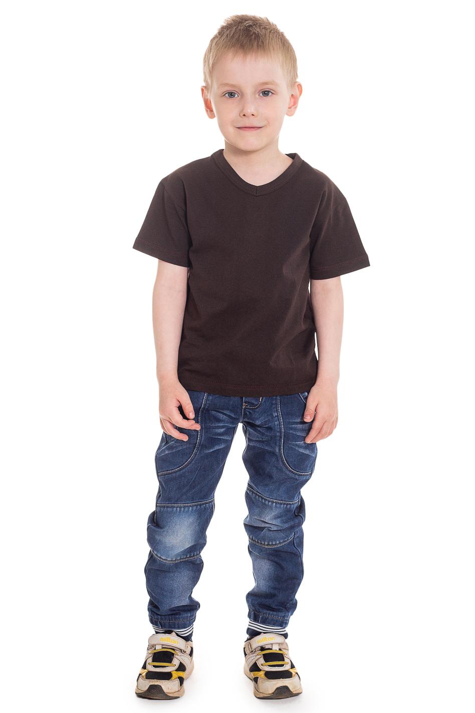ФутболкаФутболки<br>Хлопковая футболка для мальчикаЦвет: коричневыйРазмер 74 соответствует росту 70-73 смРазмер 80 соответствует росту 74-80 смРазмер 86 соответствует росту 81-86 смРазмер 92 соответствует росту 87-92 смРазмер 98 соответствует росту 93-98 смРазмер 104 соответствует росту 98-104 смРазмер 110 соответствует росту 105-110 смРазмер 116 соответствует росту 111-116 смРазмер 122 соответствует росту 117-122 смРазмер 128 соответствует росту 123-128 смРазмер 134 соответствует росту 129-134 смРазмер 140 соответствует росту 135-140 смРазмер 146 соответствует росту 141-146 смРазмер 152 соответствует росту 147-152 смРазмер 158 соответствует росту 153-158 смРазмер 164 соответствует росту 159-164 см<br><br>Горловина: V- горловина<br>Рукав: Короткий рукав<br>Материал: Хлопковые<br>Образ: Повседневные,Спорт,Уличные<br>Рисунок: Однотонные<br>Сезон: Весна,Всесезон,Зима,Лето,Осень<br>Силуэт: Полуприталенные<br>Возраст: Ясельные ( от 1 до 3 лет),Дошкольные ( от 3 до 7 лет)<br>Размер : 104,110,116<br>Материал: Хлопок<br>Количество в наличии: 8