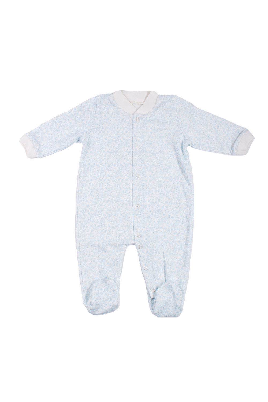 КомбинезонКомбинезончики<br>Хлопковый комбинезон для новорожденного.  В изделии использованы цвета: голубой, белый  Размер соответствует росту ребенка.<br><br>По сезону: Всесезон<br>Размер : 68<br>Материал: Хлопок<br>Количество в наличии: 1