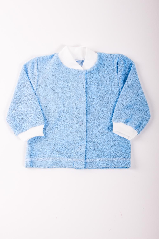 КофточкаКофточки<br>Хлопковая кофточка для новорожденного.  Цвет: голубой, белый  Размер соответствует росту ребенка<br><br>Размер : 62,68,92<br>Материал: Махровое полотно<br>Количество в наличии: 7