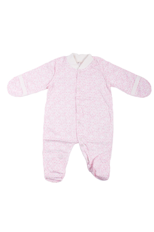 КомбинезонКомбинезончики<br>Хлопковый комбинезон для новорожденного.  В изделии использованы цвета: розовый, белый  Размер соответствует росту ребенка.<br><br>По сезону: Всесезон<br>Размер : 68<br>Материал: Хлопок<br>Количество в наличии: 1