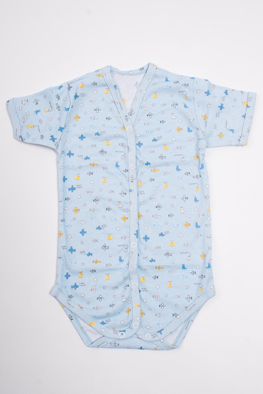 БодиКофточки<br>Хлопковое боди для новорожденного  Цвет: голубой и др.  Размер соответствует росту ребенка.<br><br>По сезону: Всесезон<br>Размер: 74<br>Материал: 100% хлопок<br>Количество в наличии: 1