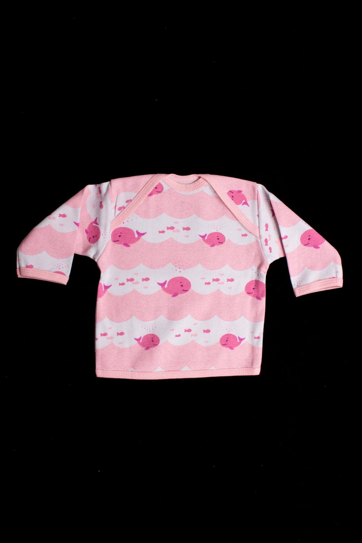 КофточкаКофточки<br>Хлопковая кофточка для ребенка  Цвет: розовый, белый  Размер соответствует росту ребенка<br><br>По сезону: Всесезон<br>Размер : 62,74,80,86<br>Материал: Хлопок<br>Количество в наличии: 4