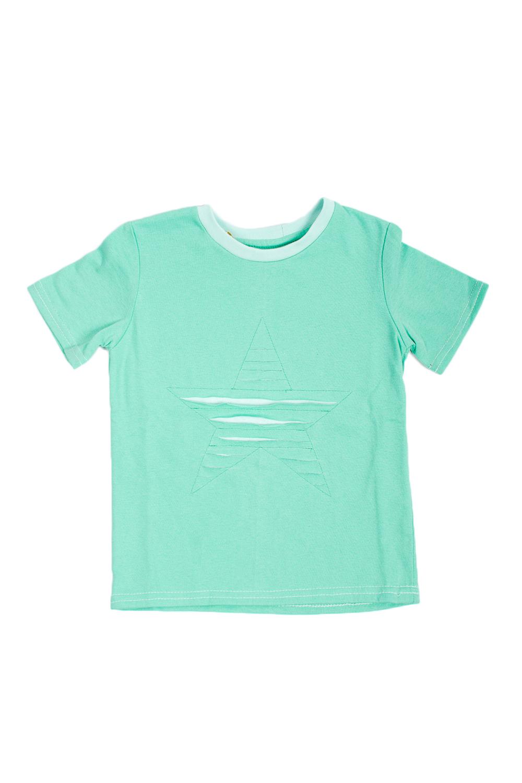 ФутболкаФутболки<br>Трикотажная футболка для девочки.  В изделии использованы цвета: зеленый, белый.  Размер 74 соответствует росту 70-73 см Размер 80 соответствует росту 74-80 см Размер 86 соответствует росту 81-86 см Размер 92 соответствует росту 87-92 см Размер 98 соответствует росту 93-98 см Размер 104 соответствует росту 98-104 см Размер 110 соответствует росту 105-110 см Размер 116 соответствует росту 111-116 см Размер 122 соответствует росту 117-122 см Размер 128 соответствует росту 123-128 см Размер 134 соответствует росту 129-134 см Размер 140 соответствует росту 135-140 см<br><br>Горловина: С- горловина<br>По возрасту: Ясельные ( от 1 до 3 лет),Дошкольные ( от 3 до 7 лет)<br>По материалу: Трикотажные,Хлопковые<br>По образу: Повседневные<br>По рисунку: Однотонные<br>По сезону: Весна,Зима,Лето,Осень,Всесезон<br>По силуэту: Полуприталенные<br>По стилю: Повседневные<br>Рукав: Короткий рукав<br>Размер : 104,110,116,92,98<br>Материал: Трикотаж<br>Количество в наличии: 5