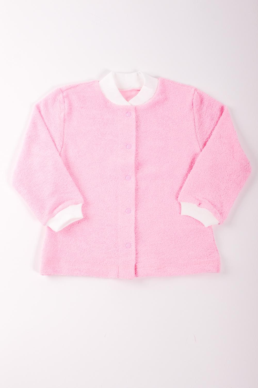 КофточкаКофточки<br>Хлопковая кофточка для новорожденного.  Цвет: розовый, белый  Размер соответствует росту ребенка<br><br>Размер : 80<br>Материал: Трикотаж<br>Количество в наличии: 1