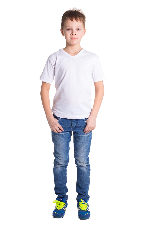 Футболка футболка для мальчика tom tailor цвет белый 1039542 00 82 1050 размер 104 110