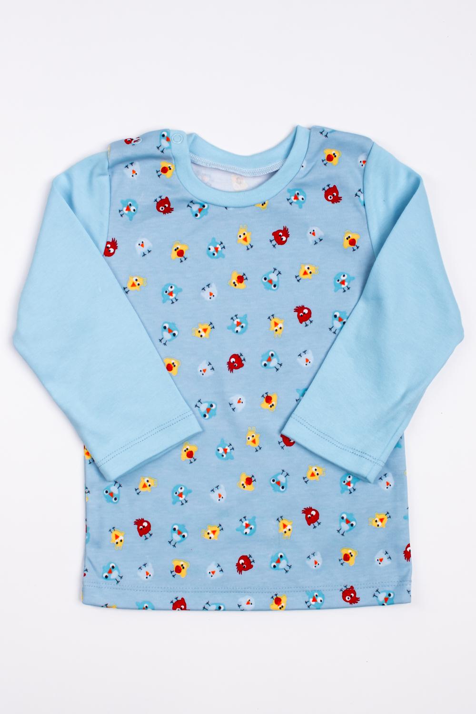 КофточкаКофты<br>Хлопковая кофточка для ребенка  Цвет: голубой, мультицвет  Размер соответствует росту ребенка<br><br>По образу: Повседневные<br>По материалу: Хлопковые,Трикотажные<br>По размеру: Ясельные (от 1 до 3 лет)<br>По рисунку: Цветные,С принтом (печатью)<br>По сезону: Всесезон,Весна,Осень<br>По силуэту: Полуприталенные<br>Рукав: Длинный рукав<br>Горловина: С- горловина<br>Размер: 92<br>Материал: 100% хлопок<br>Количество в наличии: 2
