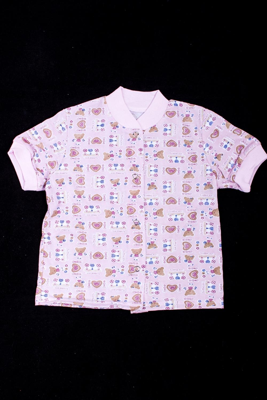 КофточкаКофточки<br>Хлопковая кофточка для ребенка.  В изделии использованы цвета: розовый и др.  Размер соответствует росту ребенка<br><br>По сезону: Всесезон<br>Размер : 62,68,74,80,92<br>Материал: Трикотаж<br>Количество в наличии: 7