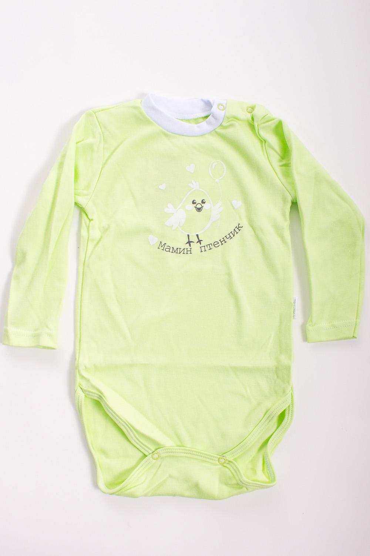 БодиКофточки<br>Хлопковое боди для новорожденного  Цвет: салатовый  Размер соответствует росту ребенка<br><br>Размер : 62,68,86<br>Материал: Хлопок<br>Количество в наличии: 9