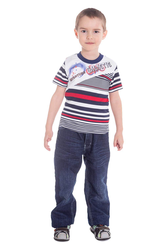 ФутболкаФутболки<br>Хлопковая футболка для мальчика  Цвет: синий, белый, красный  Размер 74 соответствует росту 70-73 см Размер 80 соответствует росту 74-80 см Размер 86 соответствует росту 81-86 см Размер 92 соответствует росту 87-92 см Размер 98 соответствует росту 93-98 см Размер 104 соответствует росту 98-104 см Размер 110 соответствует росту 105-110 см Размер 116 соответствует росту 111-116 см Размер 122 соответствует росту 117-122 см Размер 128 соответствует росту 123-128 см Размер 134 соответствует росту 129-134 см Размер 140 соответствует росту 135-140 см Размер 146 соответствует росту 141-146 см Размер 152 соответствует росту 147-152 см Размер 158 соответствует росту 153-158 см Размер 164 соответствует росту 159-164 см<br><br>По образу: Повседневные,Уличные<br>По стилю: Повседневные<br>По материалу: Трикотажные,Хлопковые<br>По рисунку: В полоску,С принтом (печатью),Цветные<br>По сезону: Лето,Всесезон<br>По силуэту: Полуприталенные<br>По длине: Удлиненные<br>Рукав: Короткий рукав<br>Горловина: С- горловина<br>По возрасту: Дошкольные ( от 3 до 7 лет),Ясельные (от 1 до 3 лет),Школьные ( от 7 до 13 лет)<br>Размер: 104,110,122,134<br>Материал: 100% хлопок<br>Количество в наличии: 2