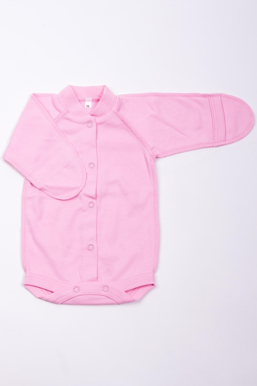 БодиКофточки<br>Хлопковое боди для новорожденного.  В изделии использованы цвета: розовый  Размер соответствует росту ребенка.<br><br>По сезону: Всесезон<br>Размер : 50<br>Материал: Хлопок<br>Количество в наличии: 1