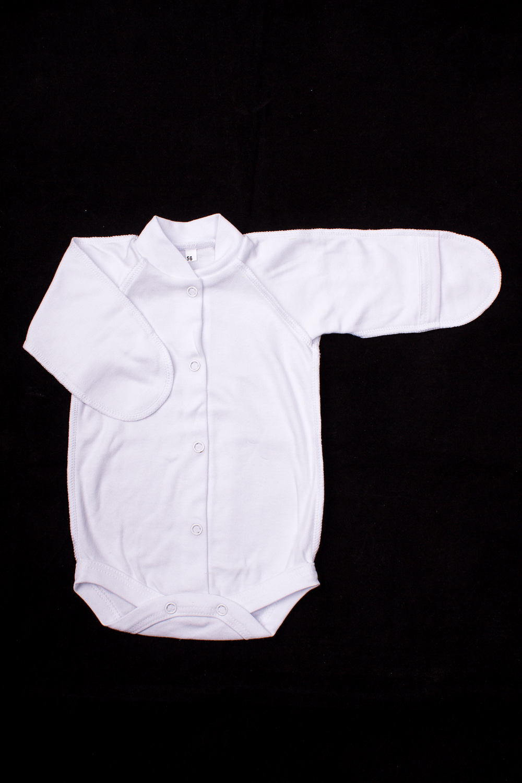 БодиКофточки<br>Хлопковое боди для новорожденного.  В изделии использованы цвета: белый  Размер соответствует росту ребенка.<br><br>По сезону: Всесезон<br>Размер : 56,62<br>Материал: Хлопок<br>Количество в наличии: 2