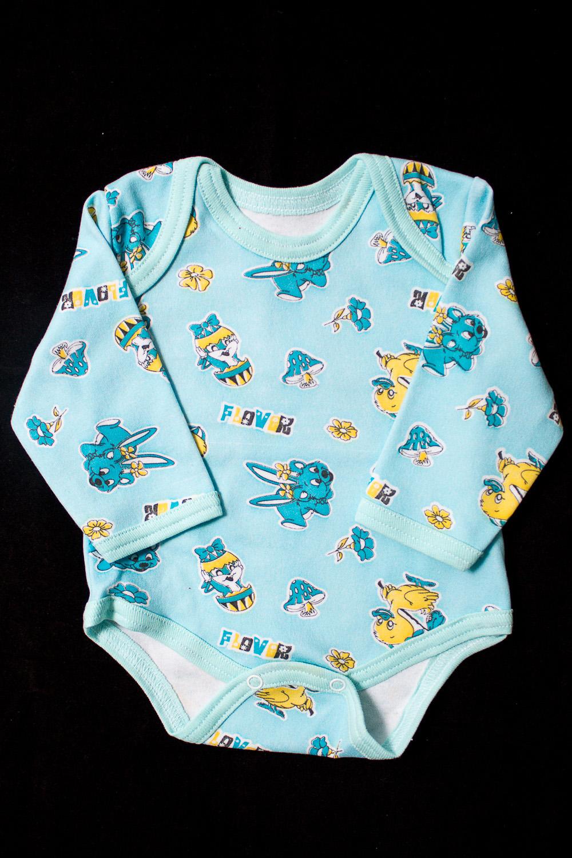 БодиКофточки<br>Хлопковое боди для новорожденного  Цвет: голубой, мультицвет  Размер соответствует росту ребенка<br><br>По сезону: Всесезон<br>Размер : 62<br>Материал: Трикотаж<br>Количество в наличии: 1