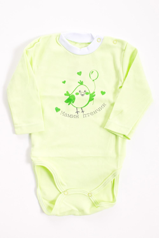 БодиКофточки<br>Хлопковое боди для новорожденного  Цвет: салатовый  Размер соответствует росту ребенка<br><br>Размер : 68<br>Материал: Хлопок<br>Количество в наличии: 1