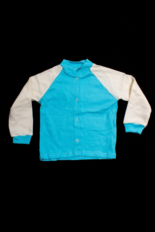 КофтаКофты<br>Хлопковая кофточка для девочки  В изделии использованы цвета: голубой, молочный.  Размер соответствует росту ребенка<br><br>Воротник: Стойка<br>По возрасту: Ясельные ( от 1 до 3 лет)<br>По материалу: Хлопковые<br>По образу: Повседневные<br>По рисунку: Цветные<br>По сезону: Весна,Зима,Лето,Осень,Всесезон<br>По силуэту: Полуприталенные<br>По элементам: С кнопками<br>Рукав: Длинный рукав,С манжетами<br>Размер : 92<br>Материал: Хлопок<br>Количество в наличии: 1
