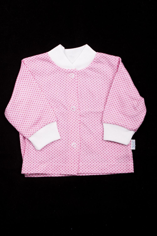 КофточкаКофточки<br>Хлопковая кофточка для ребенка.  Цвет: розовый, белый  Размер соответствует росту ребенка<br><br>По сезону: Всесезон<br>Размер : 56,68,74,80,86<br>Материал: Хлопок<br>Количество в наличии: 1
