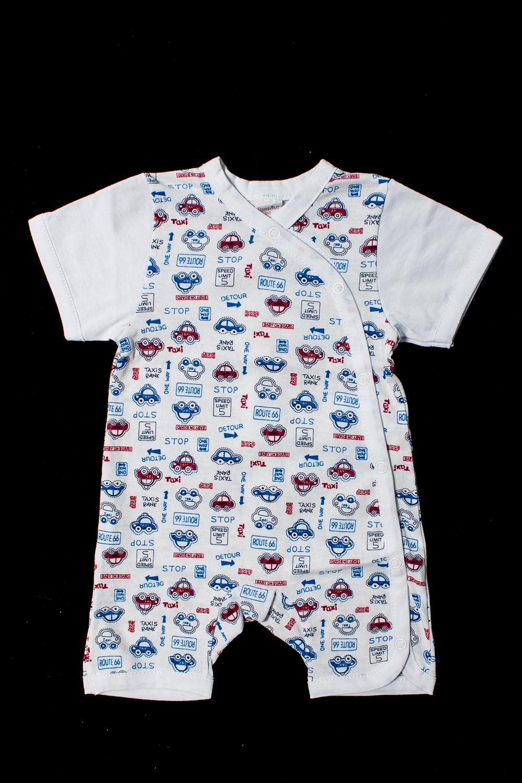 ПесочникКомбинезончики<br>Хлопковый песочник для новорожденного  Цвет: белый, красный, голубой  Размер соответствует росту ребенка<br><br>По сезону: Лето<br>Размер : 62<br>Материал: Хлопок<br>Количество в наличии: 1