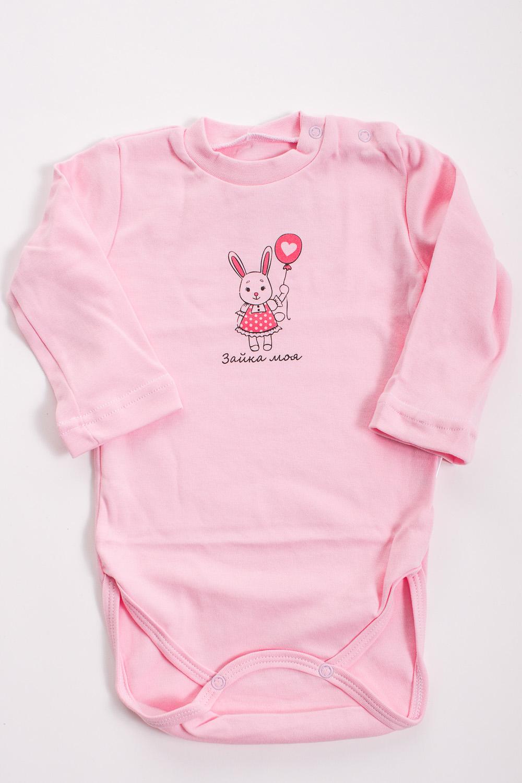 БодиКофточки<br>Хлопковое боди для новорожденного  Цвет: розовый  Размер соответствует росту ребенка<br><br>Размер : 62,68,74,80<br>Материал: Хлопок<br>Количество в наличии: 10