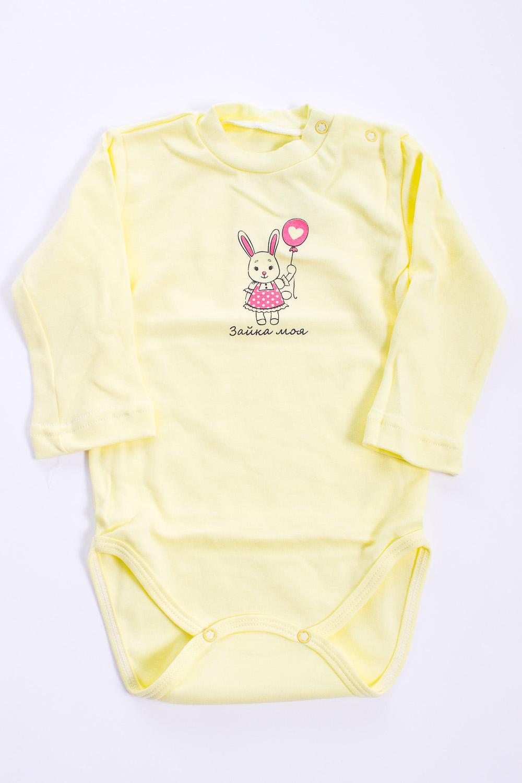 БодиКофточки<br>Хлопковое боди для новорожденного  Цвет: желтый  Размер соответствует росту ребенка<br><br>Размер : 62,68,74,80<br>Материал: Хлопок<br>Количество в наличии: 6