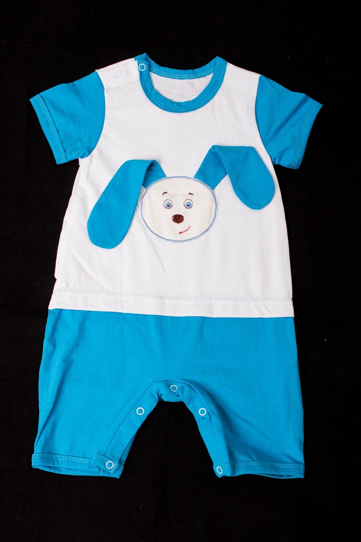 ПолукомбинезонКомбинезончики<br>Хлопковый комбинезон для новорожденного  В изделии использованы цвета: голубой, белый  Размер соответствует росту ребенка<br><br>По сезону: Всесезон<br>Размер : 62,74<br>Материал: Хлопок<br>Количество в наличии: 2