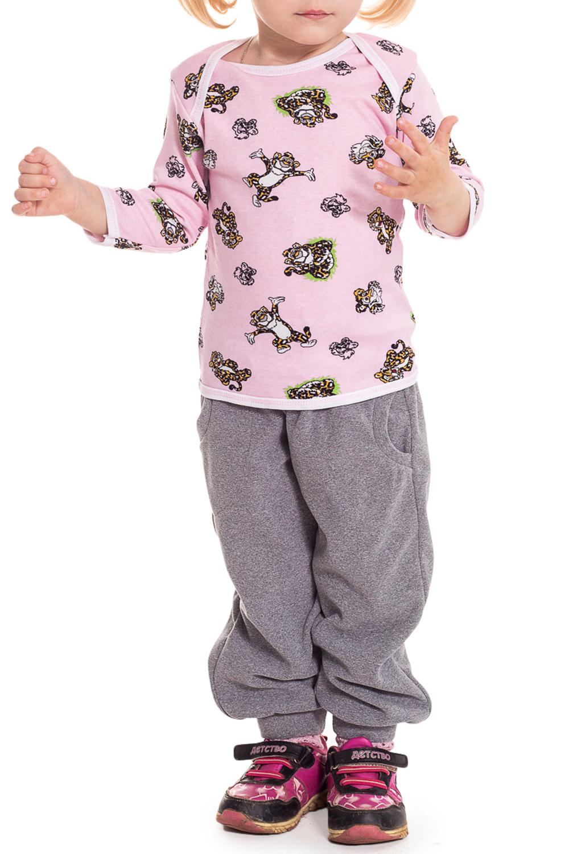 КофточкаКофточки<br>Хлопковая кофточка для ребенка.  Цвет: розовый.  Размер соответствует росту ребенка<br><br>Горловина: С- горловина<br>По длине: Удлиненные<br>По материалу: Трикотажные,Хлопковые<br>По образу: Повседневные<br>По рисунку: С принтом (печатью),Цветные<br>По сезону: Весна,Зима,Осень,Всесезон<br>По силуэту: Полуприталенные<br>По стилю: Повседневные<br>Рукав: Длинный рукав<br>По возрасту: Ясельные ( от 1 до 3 лет)<br>Размер : 62<br>Материал: Хлопок<br>Количество в наличии: 1