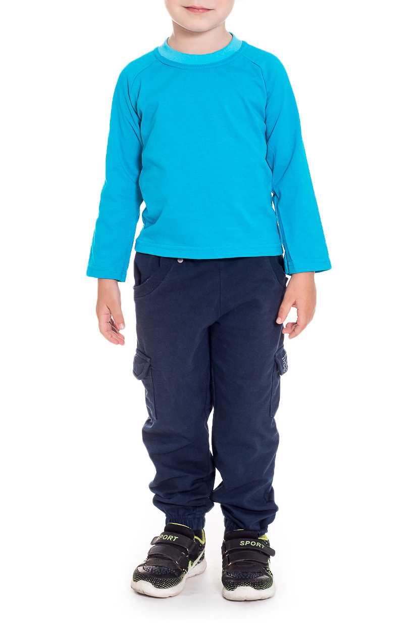ФутболкаФутболки<br>Хлопковая футболка для мальчика с длинными рукавами  Цвет: голубой  Размер 74 соответствует росту 70-73 см Размер 80 соответствует росту 74-80 см Размер 86 соответствует росту 81-86 см Размер 92 соответствует росту 87-92 см Размер 98 соответствует росту 93-98 см Размер 104 соответствует росту 98-104 см Размер 110 соответствует росту 105-110 см Размер 116 соответствует росту 111-116 см Размер 122 соответствует росту 117-122 см Размер 128 соответствует росту 123-128 см Размер 134 соответствует росту 129-134 см Размер 140 соответствует росту 135-140 см Размер 146 соответствует росту 141-146 см Размер 152 соответствует росту 147-152 см Размер 158 соответствует росту 153-158 см Размер 164 соответствует росту 159-164 см<br><br>Горловина: С- горловина<br>По возрасту: Ясельные (от 1 до 3 лет)<br>По материалу: Трикотажные,Хлопковые<br>По образу: Повседневные,Спорт<br>По рисунку: Однотонные<br>По сезону: Весна,Зима,Лето,Осень,Всесезон<br>По силуэту: Полуприталенные<br>По стилю: Повседневные,Спортивные<br>Размер : 80,92<br>Материал: Трикотаж<br>Количество в наличии: 2