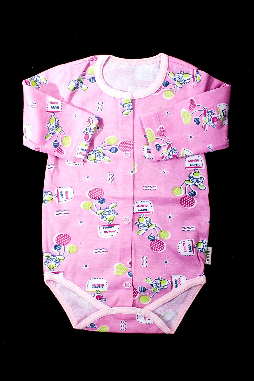 БодиКофточки<br>Хлопковое боди для новорожденного  В изделии использованы цвета: розовый и др.  Размер соответствует росту ребенка.<br><br>По сезону: Всесезон<br>Размер : 62,68,74<br>Материал: Хлопок<br>Количество в наличии: 5