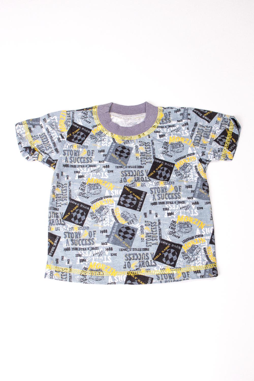 ФуфайкаКофточки<br>Хлопковая футболка для новорожденного  В изделии использованы цвета: серый, желтый и др.  Размер соответствует росту ребенка<br><br>По сезону: Всесезон<br>Размер : 68<br>Материал: Трикотаж<br>Количество в наличии: 1