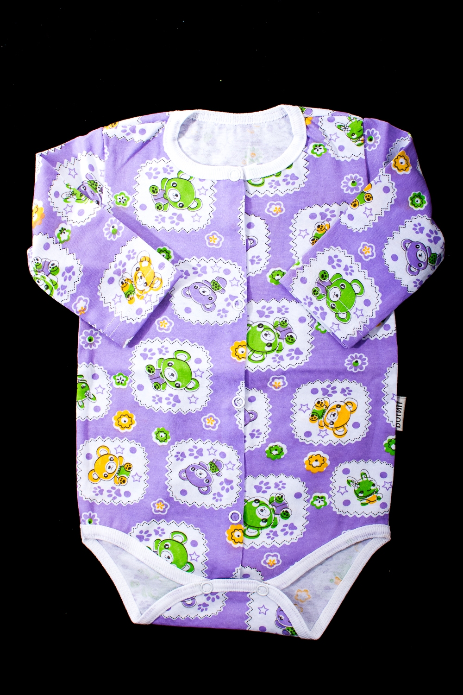 БодиКофточки<br>Хлопковое боди для новорожденного  В изделии использованы цвета: сиреневый и др.  Размер соответствует росту ребенка.<br><br>По сезону: Всесезон<br>Размер : 68,74<br>Материал: Хлопок<br>Количество в наличии: 2