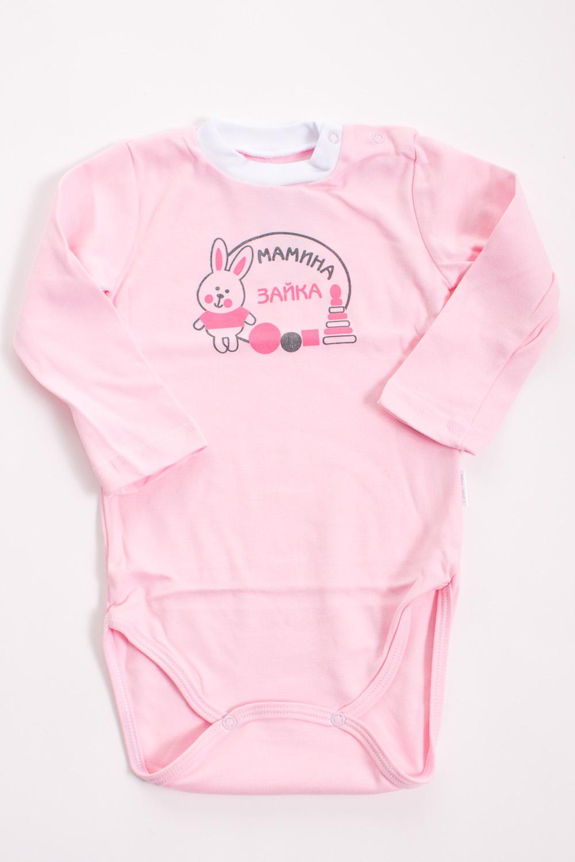 БодиКофточки<br>Хлопковое боди для новорожденного  Цвет: розовый, белый  Размер соответствует росту ребенка<br><br>Размер : 62,68,86<br>Материал: Хлопок<br>Количество в наличии: 9