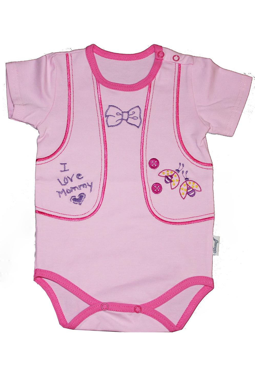 БодиКофточки<br>Хлопковое боди для новорожденного  Цвет: розовый  Размер соответствует росту ребенка.<br><br>Размер : 62,68,74<br>Материал: Хлопок<br>Количество в наличии: 5