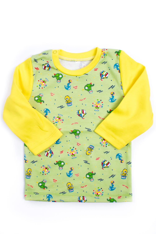КофточкаКофты<br>Хлопковая кофточка для ребенка  Цвет: желтый, салатовый, мультицвет  Размер соответствует росту ребенка<br><br>Горловина: С- горловина<br>По материалу: Трикотажные,Хлопковые<br>По образу: Повседневные<br>По рисунку: С принтом (печатью),Цветные<br>По сезону: Весна,Осень,Всесезон<br>По силуэту: Полуприталенные<br>Рукав: Длинный рукав<br>По возрасту: Ясельные ( от 1 до 3 лет)<br>Размер : 80<br>Материал: Хлопок<br>Количество в наличии: 1